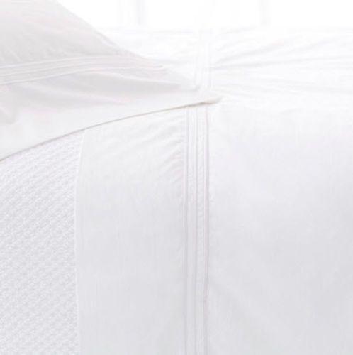 Trio White Pillow Cases (Pair)