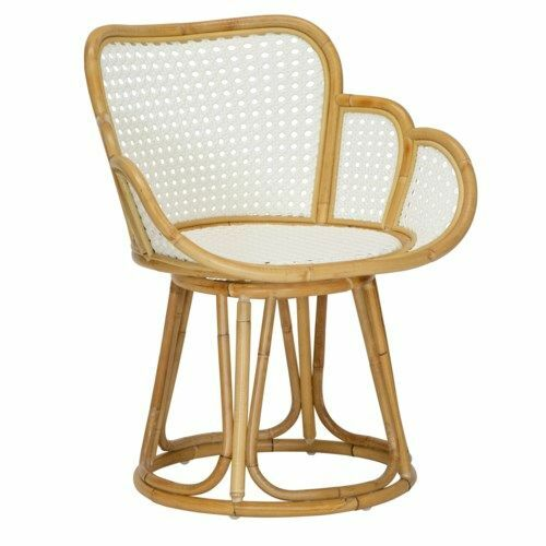 Tulip Occasional Chair in White <font color=a8bb35>NEW</font>