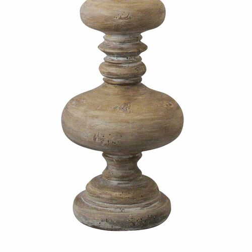 Turned Spindle Table Lamp