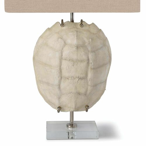 Turtle Shell Exhibit Table Lamp