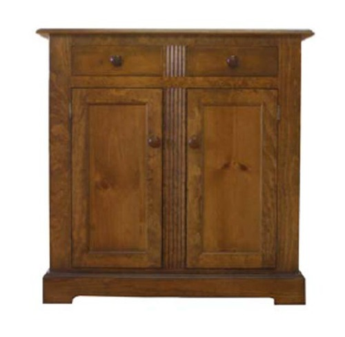 Two Door Two Drawer Cabinet