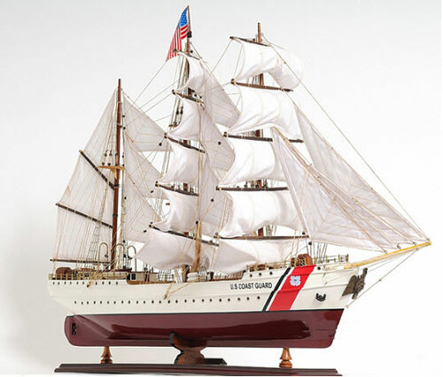 US Coast Guard Eagle Replica Model