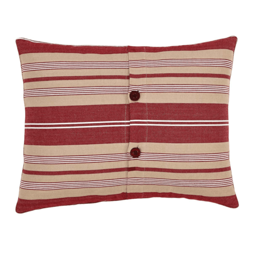 Vintage Stripe Noel Pillow 14x18