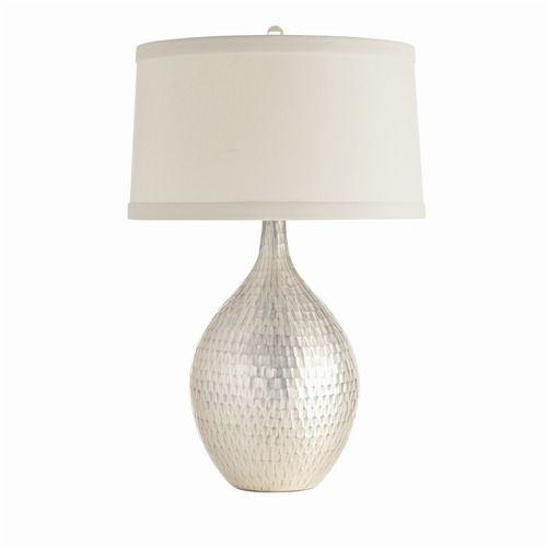 Walter Distress Mercury Glass Lamp <font color=a8bb35>Backorder</font>