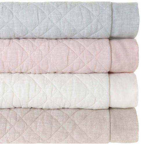 Washed Linen Natural Beige Quilt 20% OFF