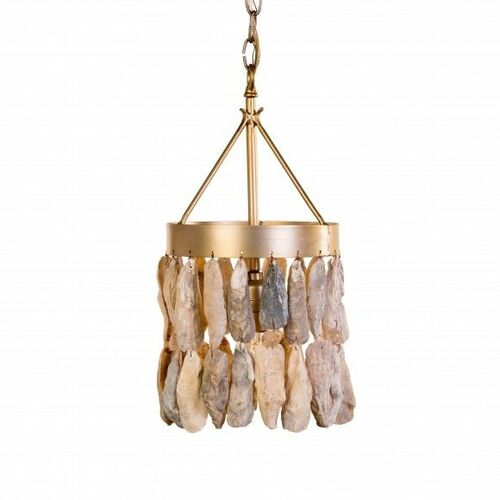 Wassau Shell Drum Mini Pendant Light