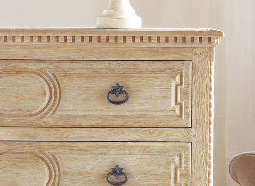Weathered Oak Chest