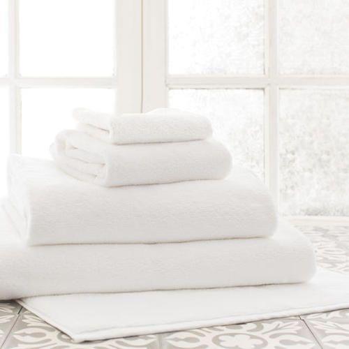 Signature White Bath Towels