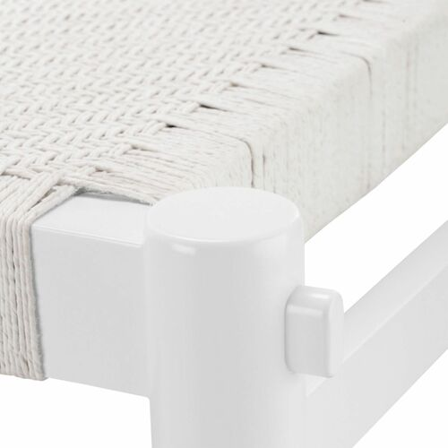 White Rope Bench <font color=a8bb35>NEW</font>