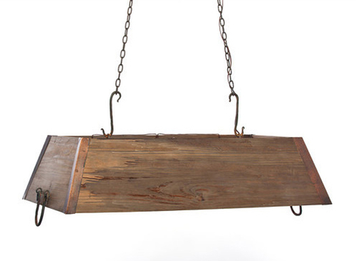 Wooden Trough Lowcountry Chandelier