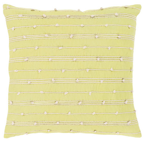 Accretion Pillow In Lime Cottage Amp Bungalow