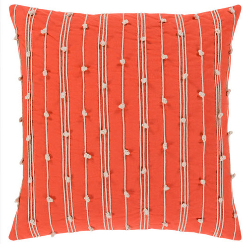 Accretion Pillow in Orange