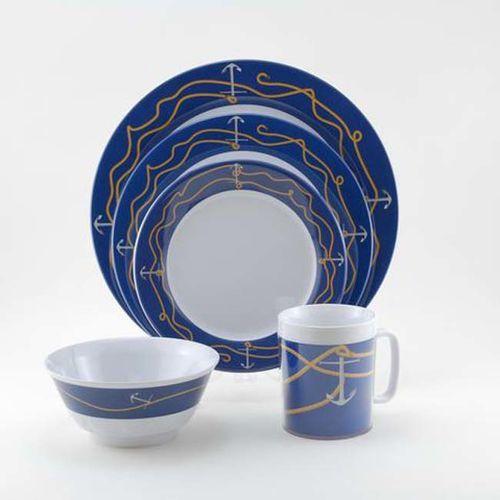 Anchorline Melamine Dinnerware Collection with Platter