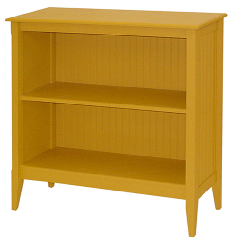 Bead Board Wide Bookcase