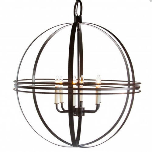 Beaufort Atlas Globe Chandelier