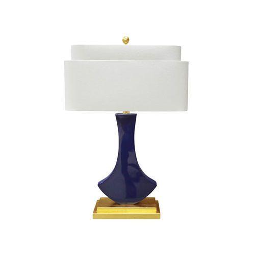Bellaria Table Lamp in Indigo Blue