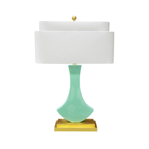 Bellaria Table Lamp in Mint