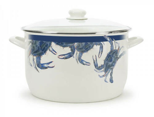 Blue Crab 18 Quart Stock Pot