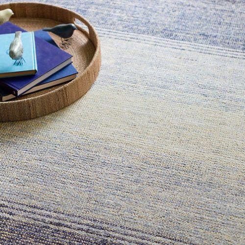 Blue Moon Cotton Blend Woven Rug