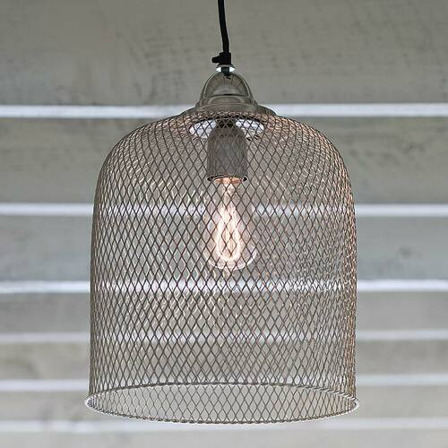 Cage Pendant Light <font color=a8bb35> Discontinued</font>