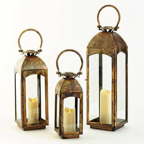 Capri Lantern in Three Sizes