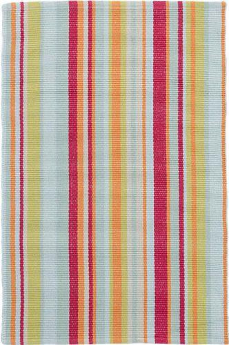 Clara Stripe Woven Cotton Rug