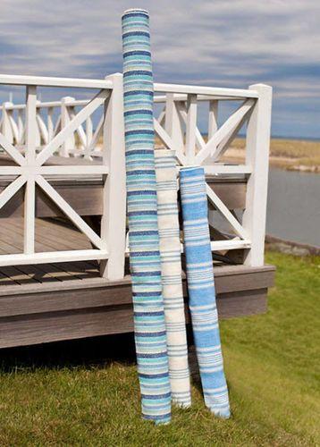 Bluemarine Ticking Cotton Rug