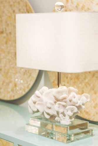 Elkhorn Coral Table Lamp<font color=a8bb35> Sold out</font>