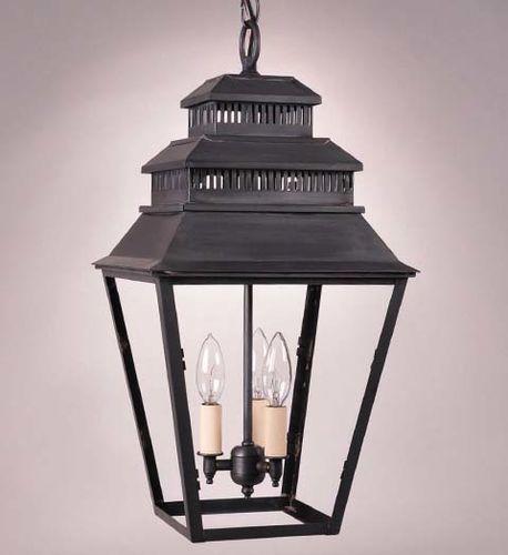 Elryan 3-Light Hanging Lantern
