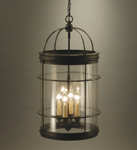 Foyer 4-light Round Hanging Light Fixture <font color=a8bb25> Sold Out</font>