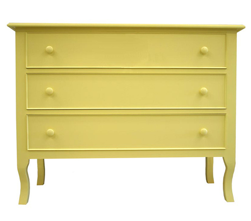 French Three Drawer Chest
