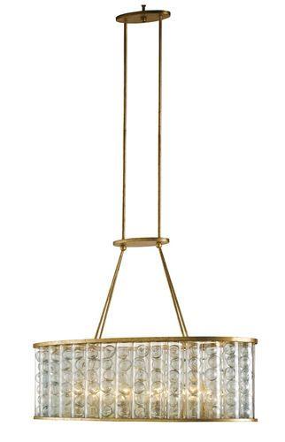 Frinton Rectangular 10-Light Chandelier