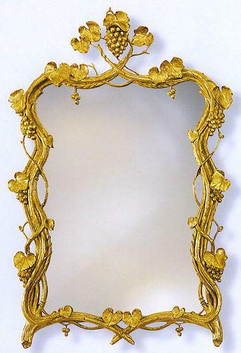 Grape Vines in Gold Leaf Mirror