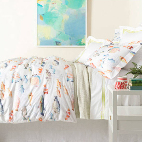 Happy Fish Duvet Cover