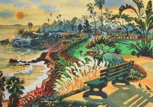 Heisler Park Beach Print