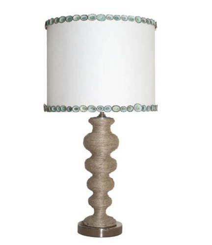 Hemp Betty Table Lamp