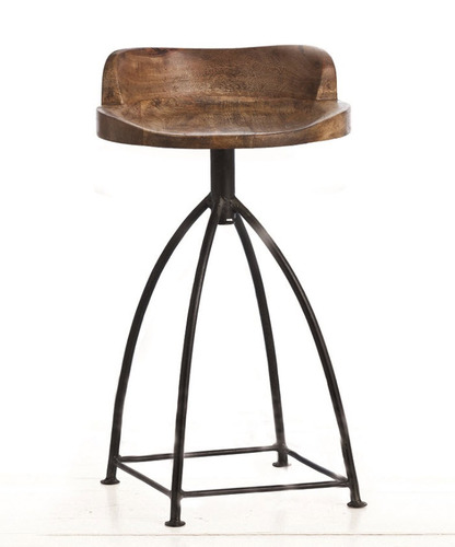 Henson Wood/Iron Counter Stool