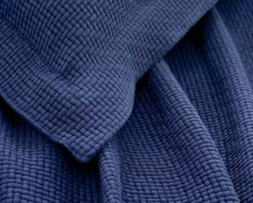 Interlaken Matelasse Ink/Navy Sham