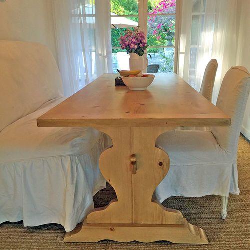 Irish Farm Dining Table in Two Sizes