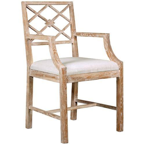 Kensington Arm Chair in Limed Oak