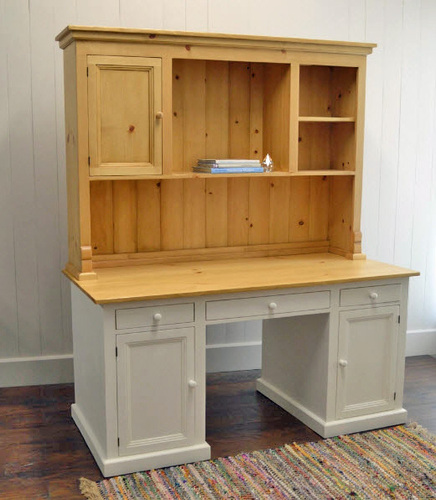 Kitchen Desk & Hutch