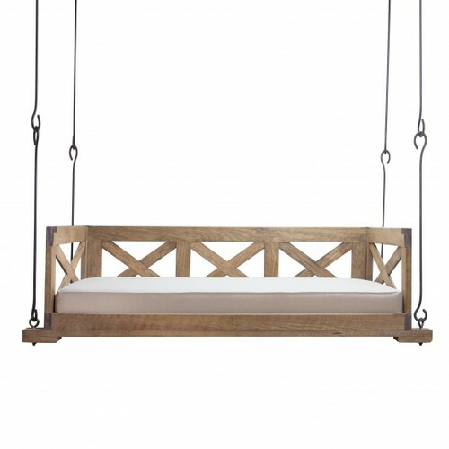 Low Country Bed Swing With Back And Side For Sale