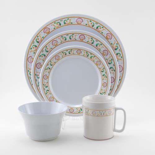 Mariner Melamine Dinnerware Collection with Platter