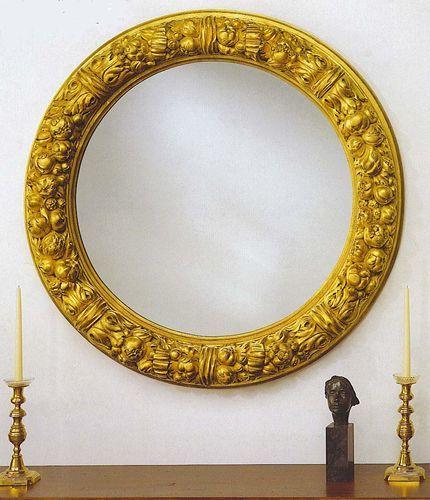 Newport Harvest Wreath Mirror