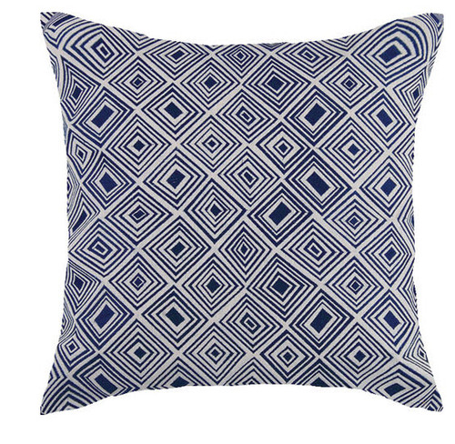 Nomad Indigo Embroidered Pillow