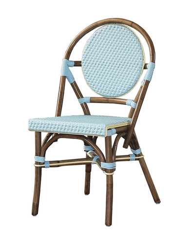 Paris Bistro Chair in Green - Set of Two