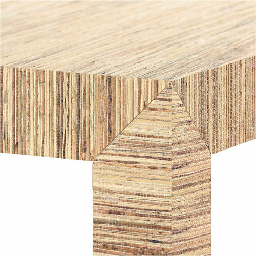 Parsons Papyrus Coffee Table