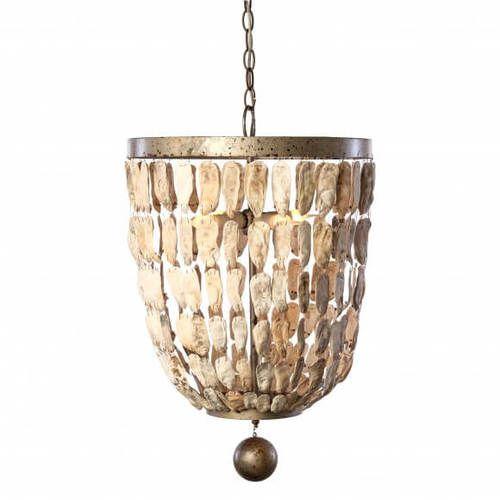 Pendant Shell Bells Light
