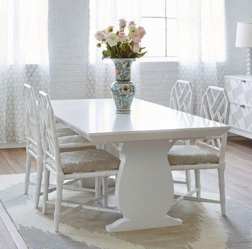 Porto Dining Table - White