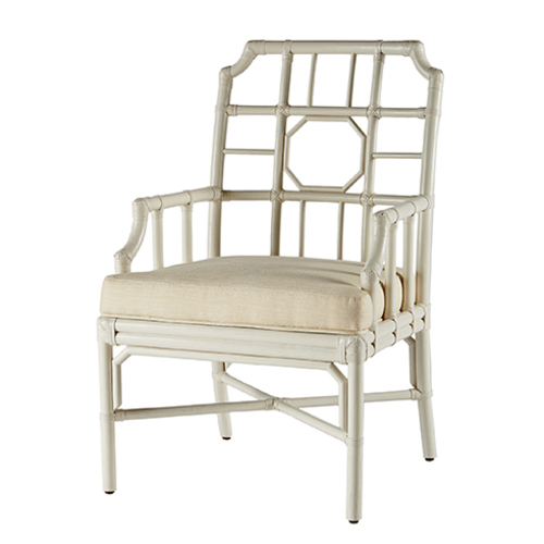 Regeant Rattan Arm Chair in Many Colors